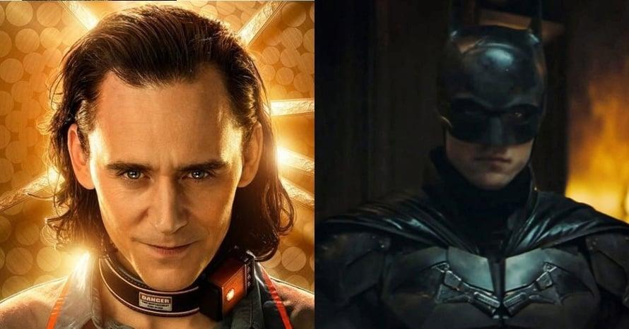Loki Joker The Batman Tom HIddleston Robert Pattinson