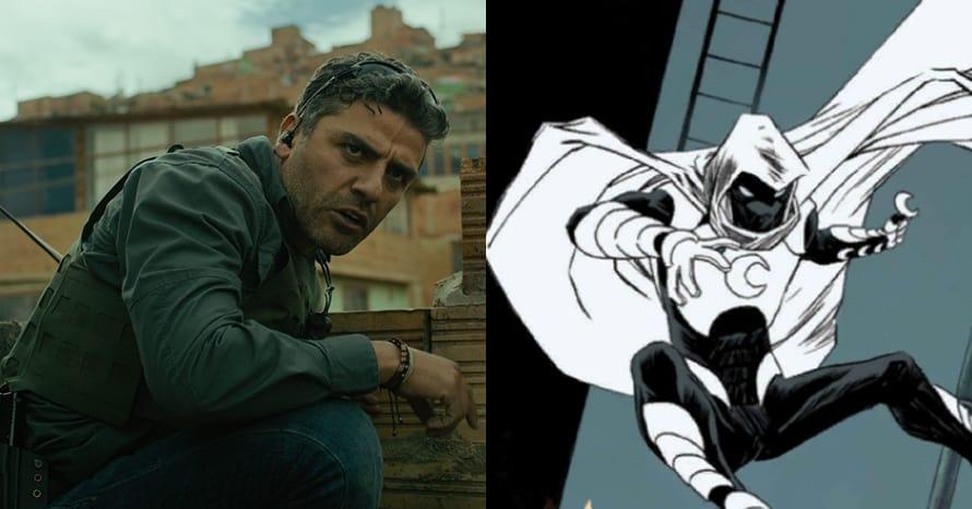 Moon Knight Oscar Isaac Marvel Marc Spector MCU