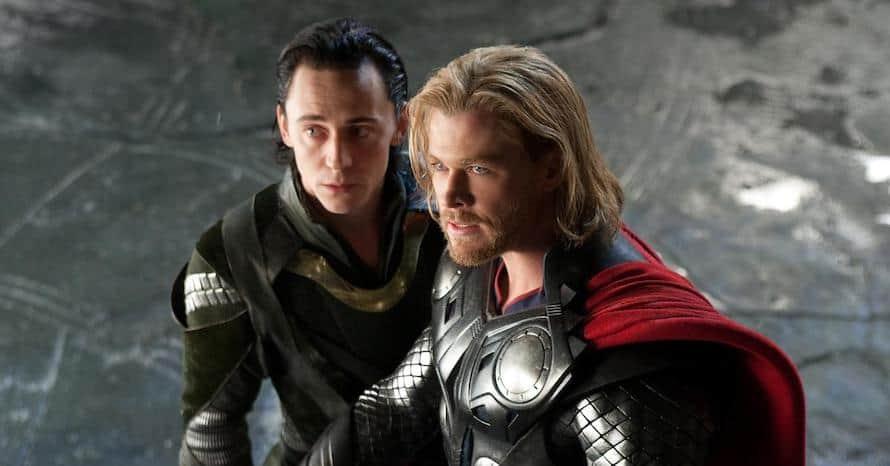 Thor Chris Hemsworth Tom Hiddleston