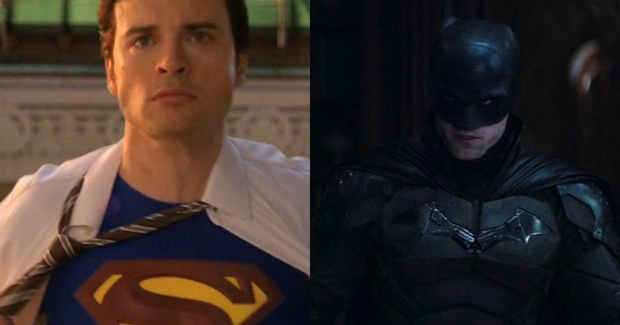 Tom Welling Robert Pattinson The Batman Superman