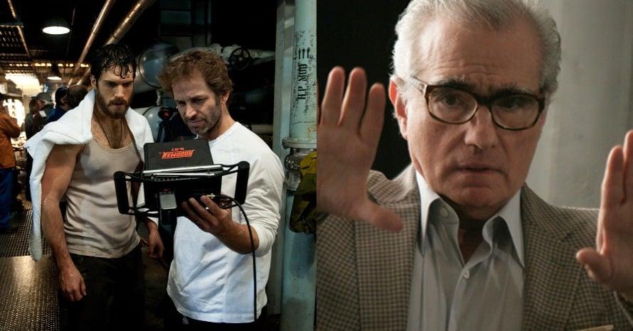 Zack Snyder Martin Scorsese MCU Justice League