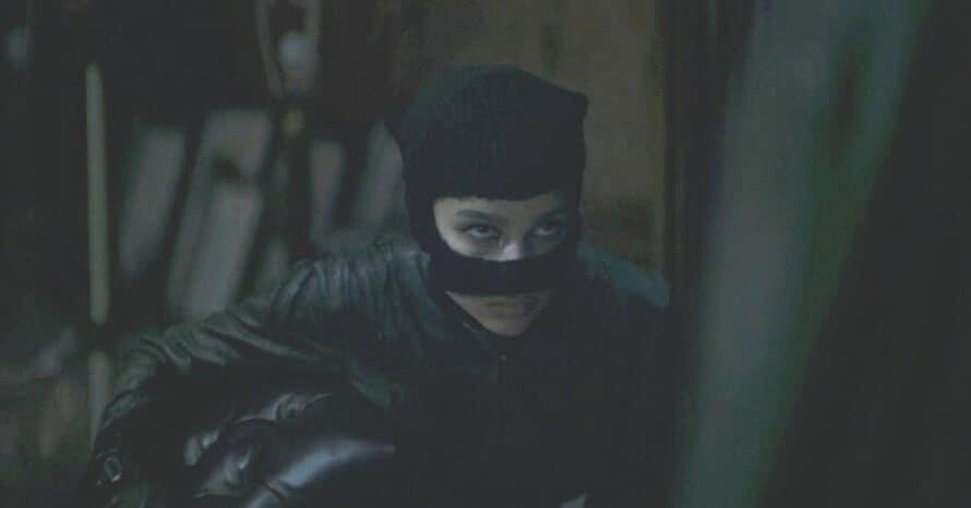 Zoe Kravitz Catwoman The Batman Costume Robert Pattinson DC FanDome Matt Reeves