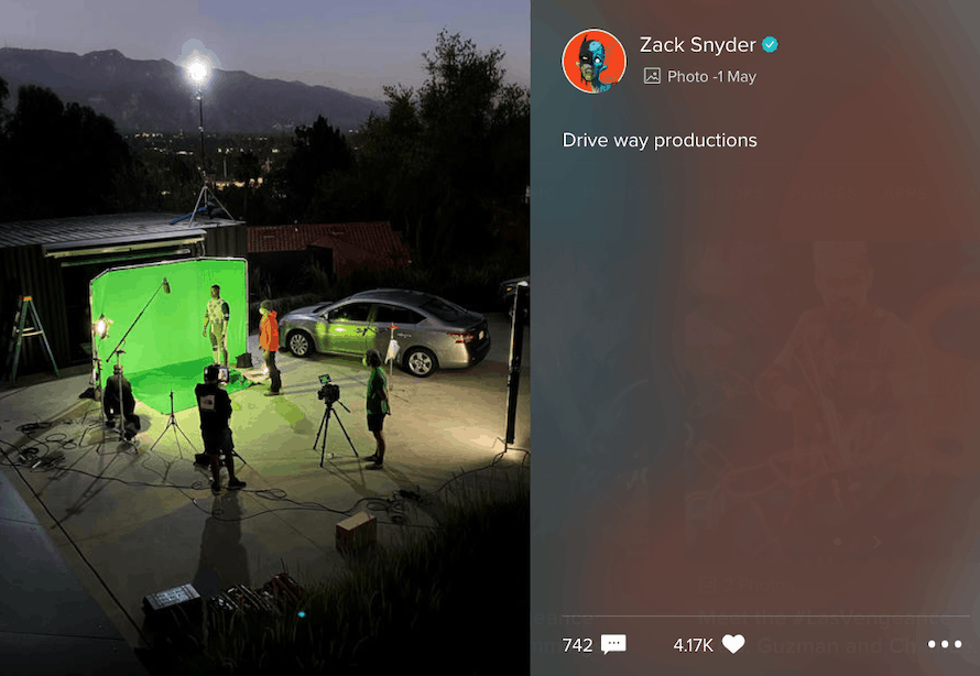 zack SNyder Green Lantern Justice LEague