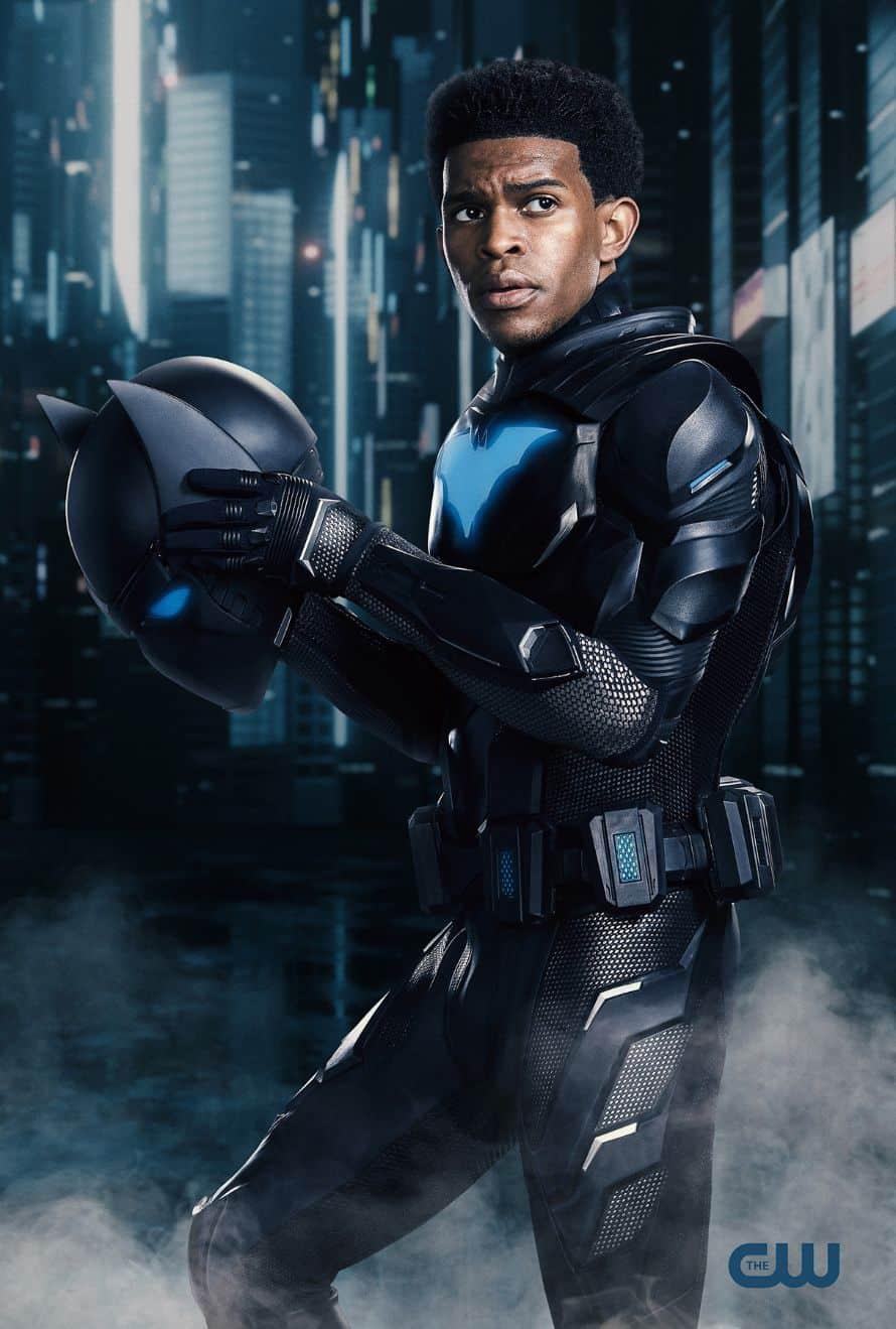 Batwoman Camrus Johnson Luke Fox Batwing The CW