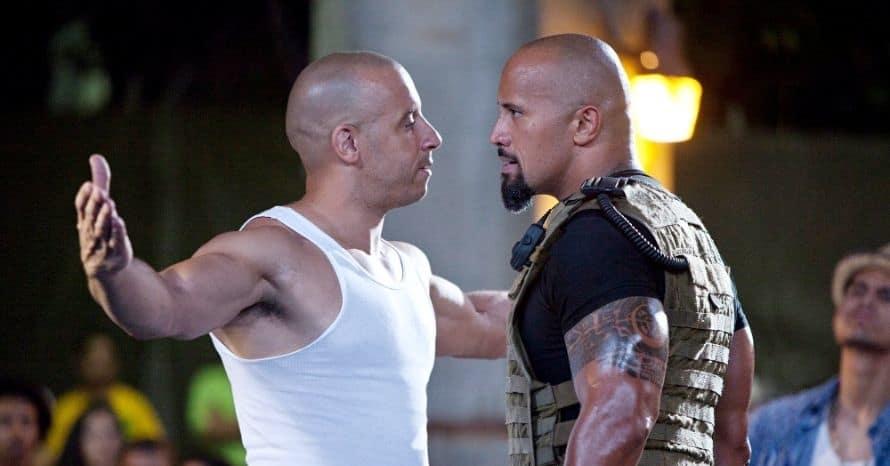 Fast And Furious Dwayne Johnson Vin Diesel