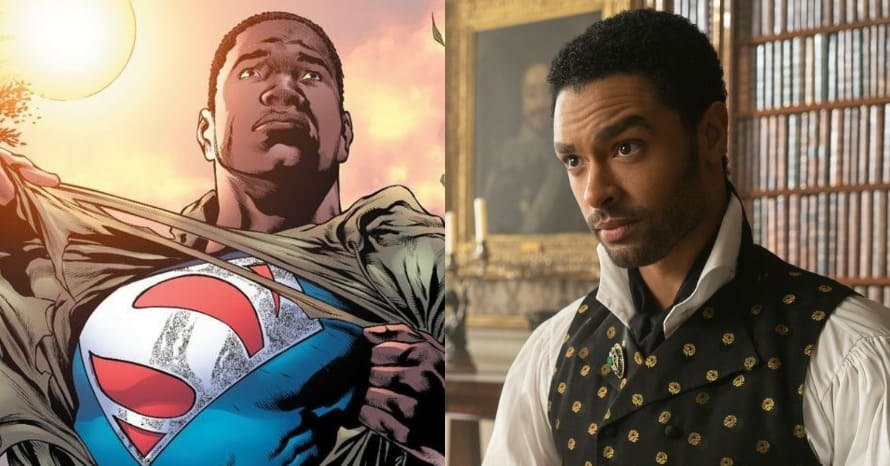 Rege-Jean Page Jonathan Majors John Boyega Superman