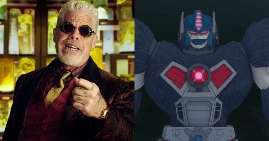 Ron Perlman Beast Wars Optimus Primal Transformers