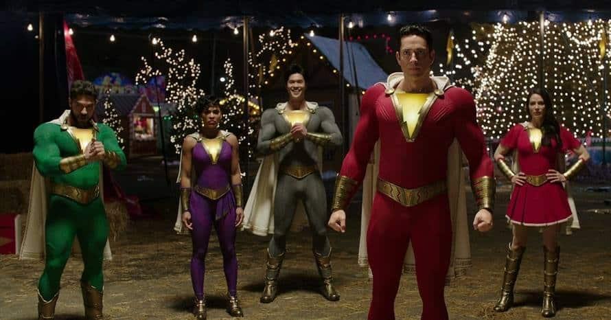 Shazam Family Zachary Levi Fury of the Gods Marvel Family