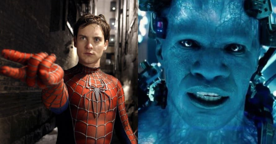 Spider-Man Tobey Maguire Tom Holland Electro