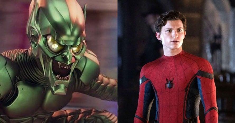 Willem Dafoe Green Goblin Tom Holland Spider-Man 3