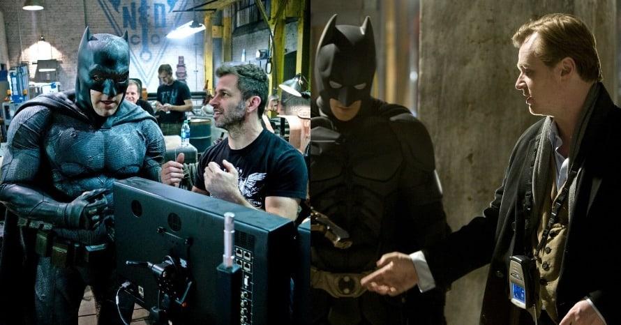 Zack Snyder Christopher Nolan Justice League