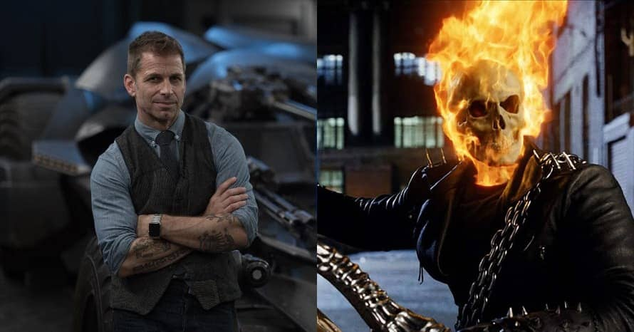 Zack Snyder Ghost Rider Justice League