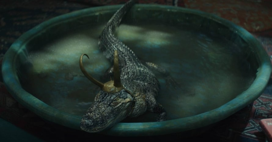 Alligator Loki Tom Hiddleston Marvel