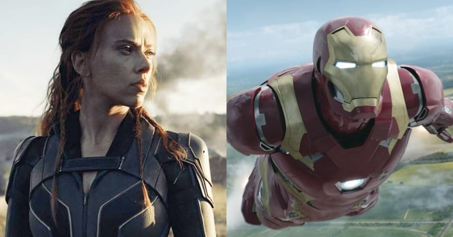 Black Widow Iron Man Cameo