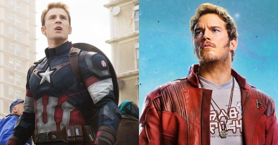 Captain America Star-Lord James Gunn