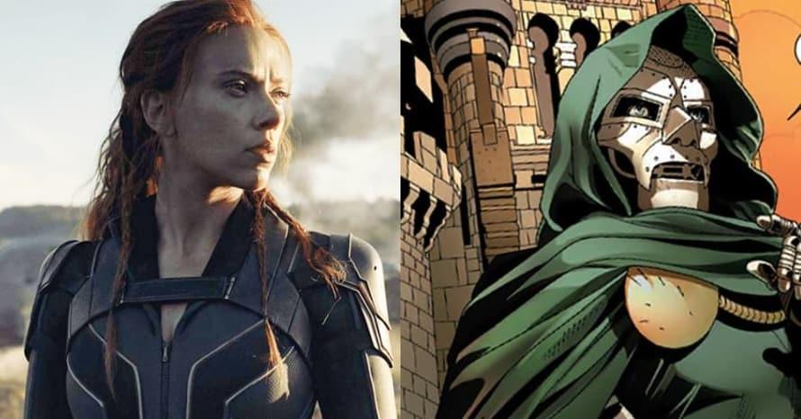 Fantastic Four Doctor Doom Victor Von Doom Black Widow
