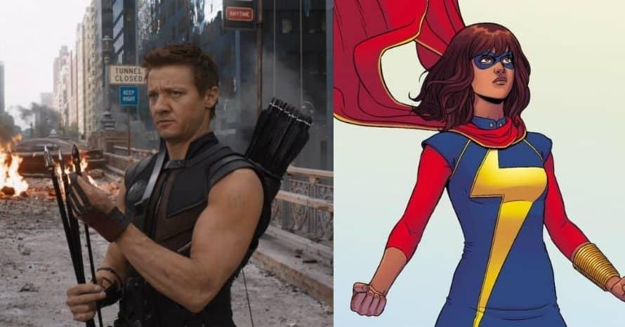 Hawkeye Ms Marvel Disney Plus