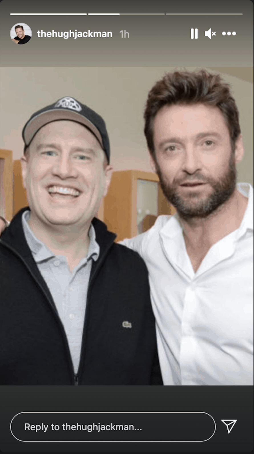 Hugh Jackman Kevin Feige Wolverine