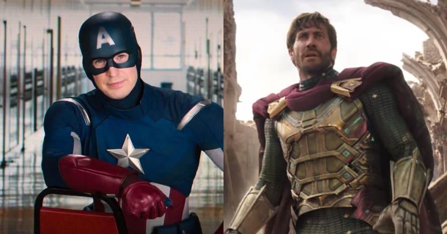 Jake Gyllenhaal Captain America Marvel Chris Evans