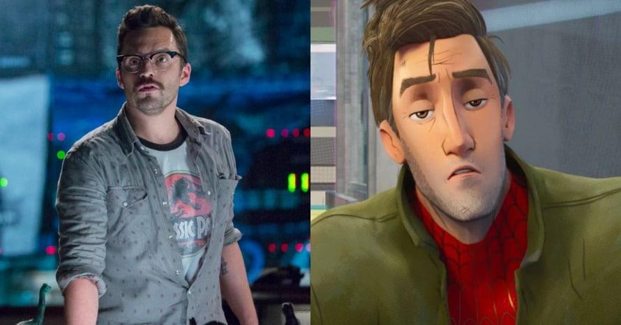 Jake Johnson Spider-Man Into the Spider-Verse Sequel