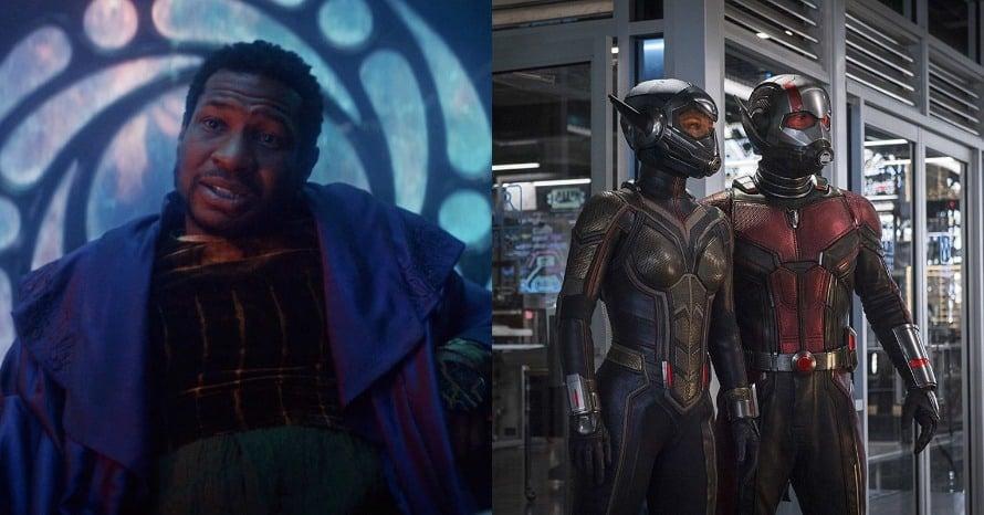 Jonathan Majors Kang the Conqueror Ant-Man and the Wasp Quantumania Ant-Man 3