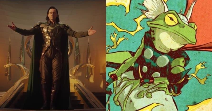 'Loki' Composer Says Deleted King Loki Scene Features Throg