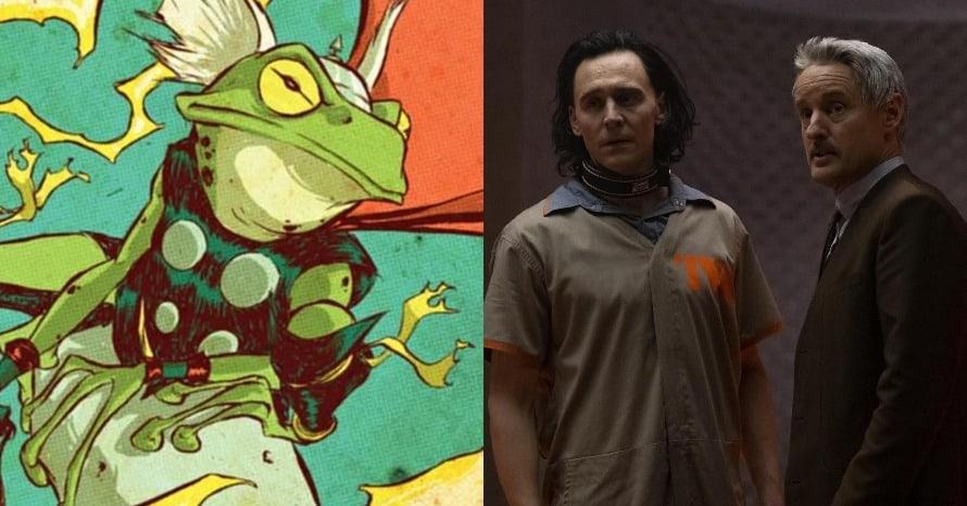 Loki Frog Thor