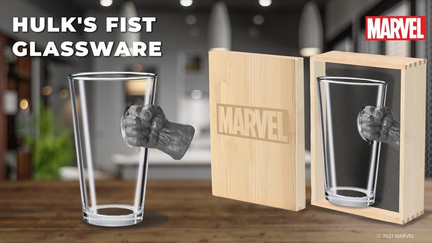 Marvel Glassware Collection 02 Avengers