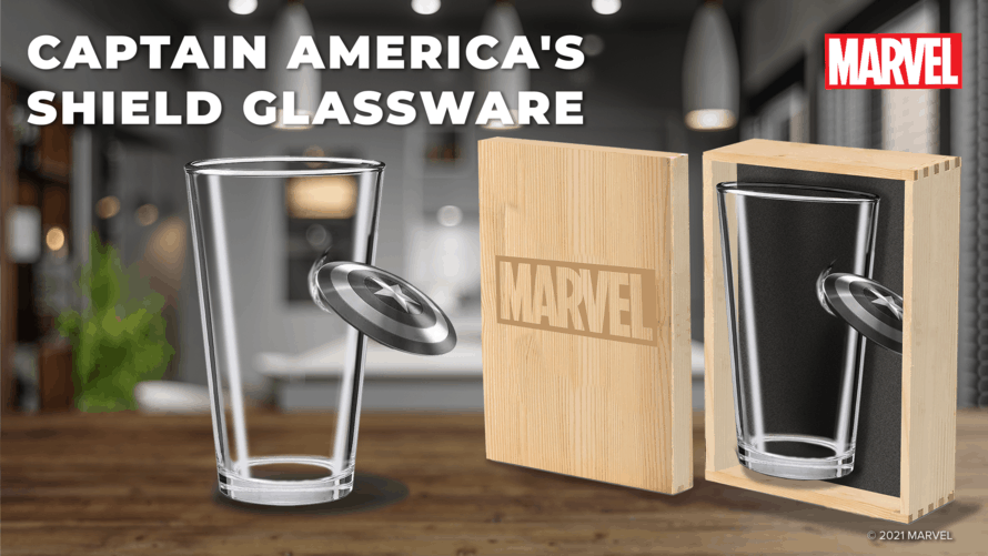 Marvel Glassware Collection 04 Avengers