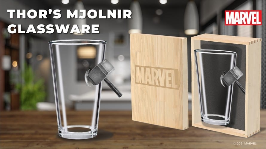 Marvel Glassware Collection 08 Avengers