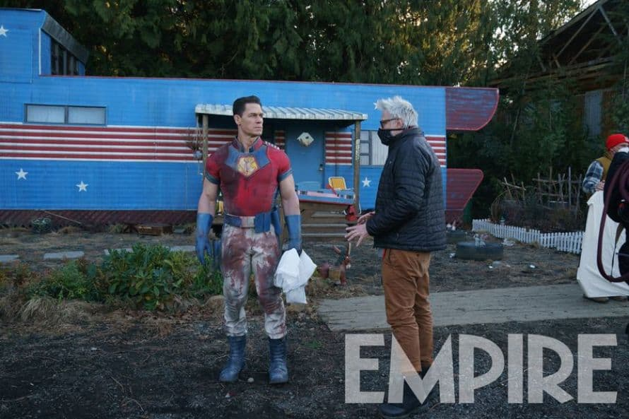 Peacemaker John Cena James Gunn The Suicide Squad