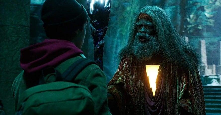 'Shazam! Fury Of The Gods' Set Photos Unite Djimon Hounsou & Marvel Family
