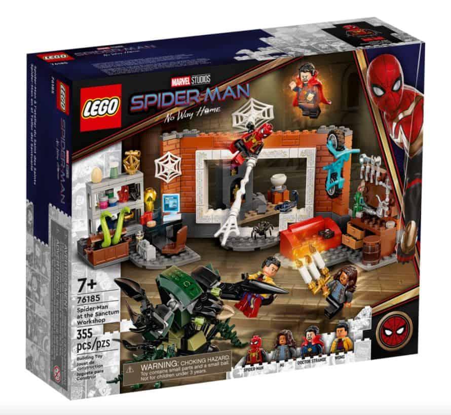 Spider-Man No Way Home LEGO Set Suit