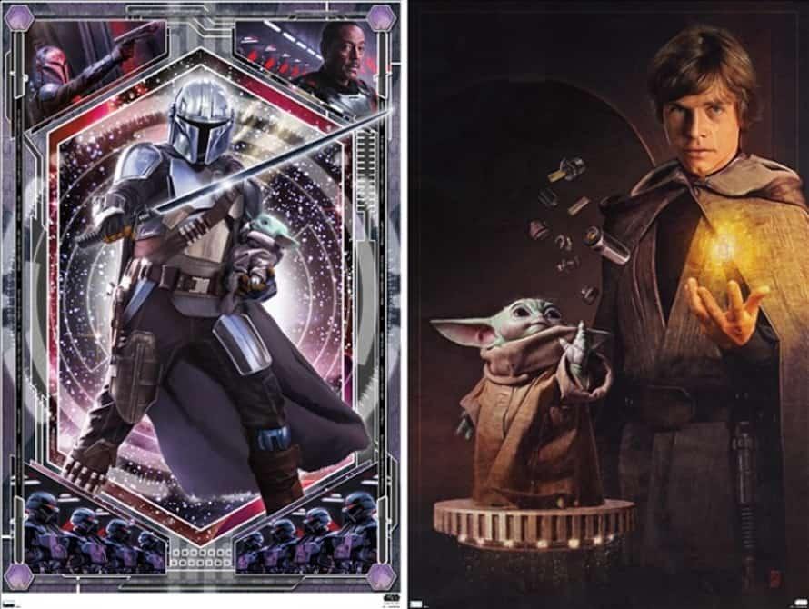 The Mandalorian Luke Skywalker Grogu 02