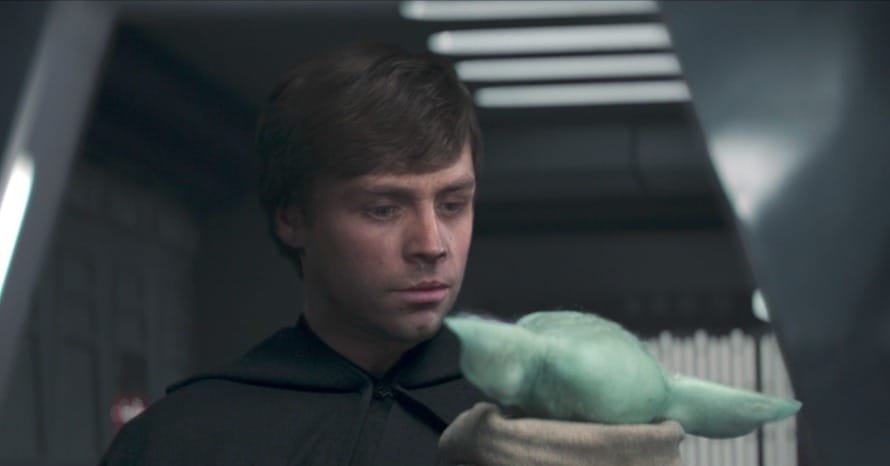 The Mandalorian Luke Skywalker Grogu Mark Hamill