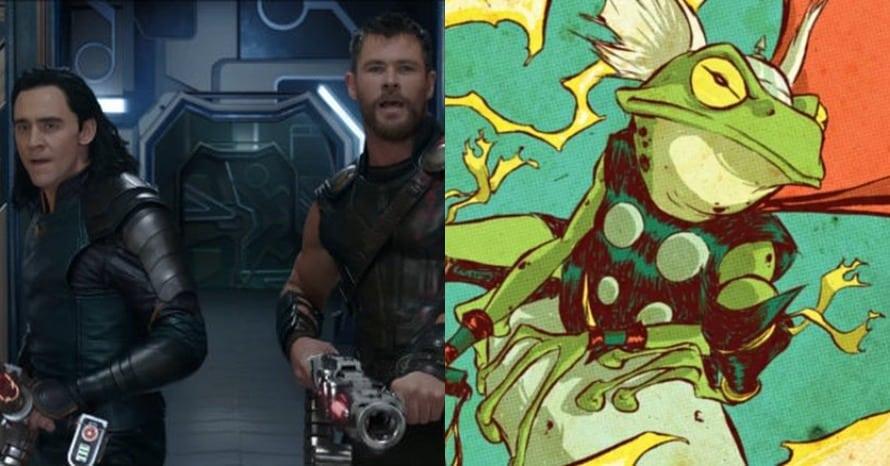 Thor Loki Frog Throg Chris Hemsworth