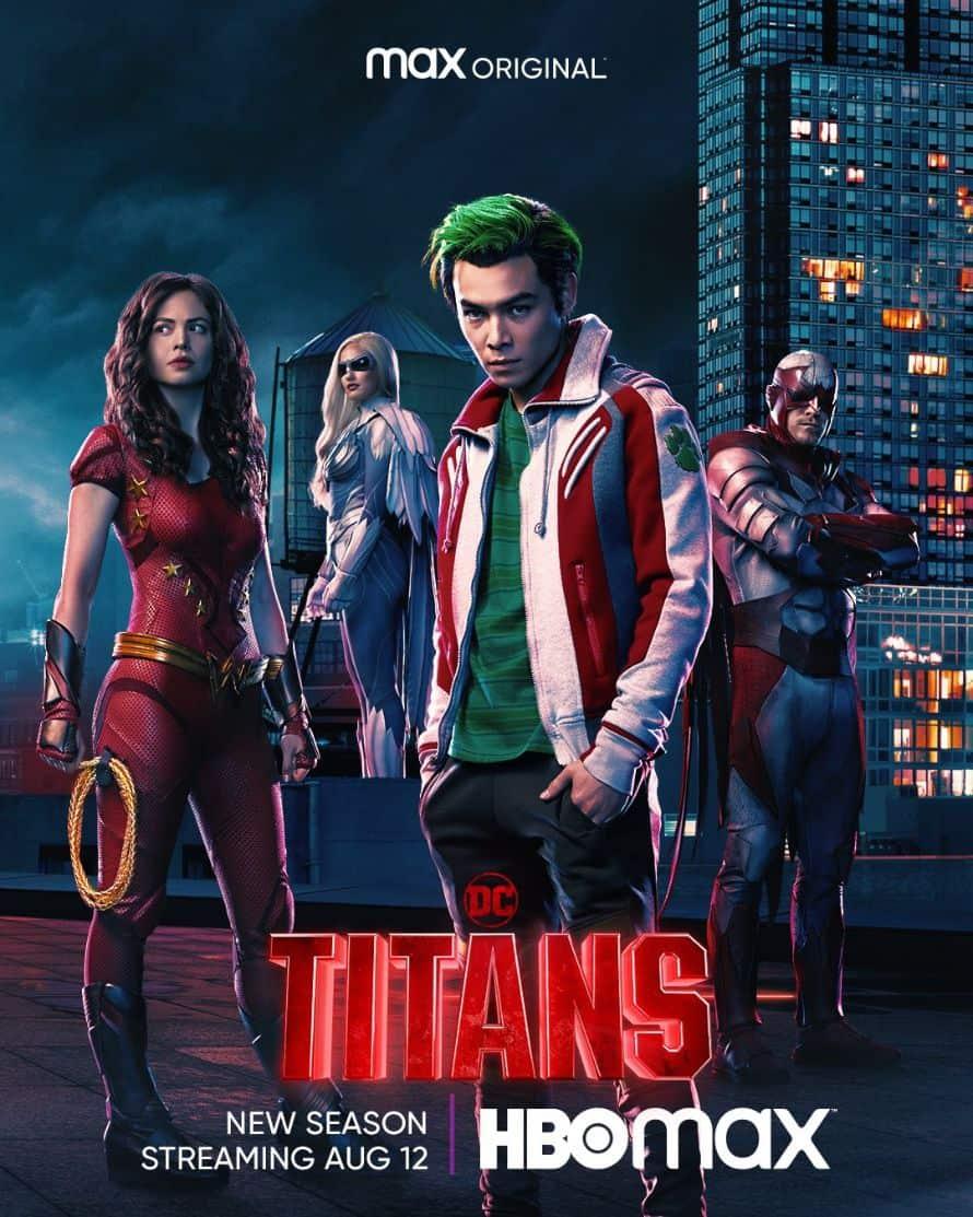 Titans HBO Max Season 3 Poster 1
