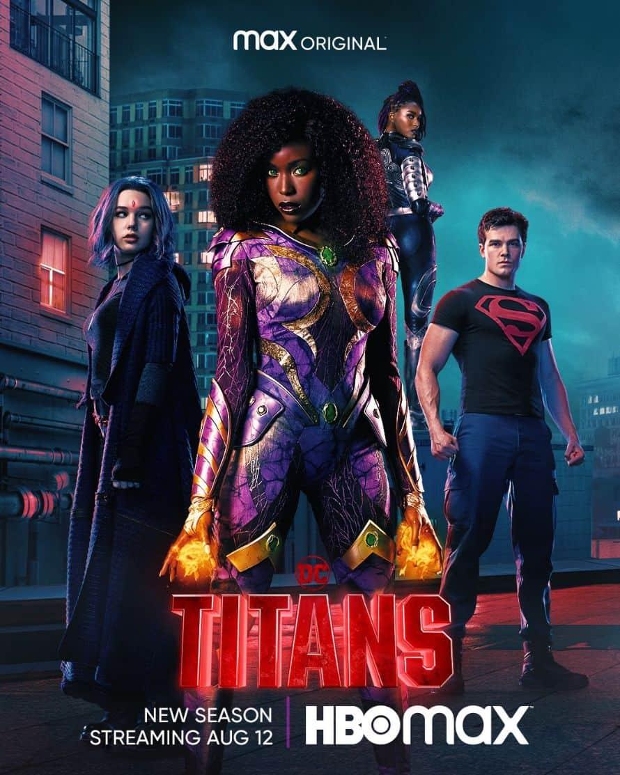 Titans HBO Max Season 3 Poster 2