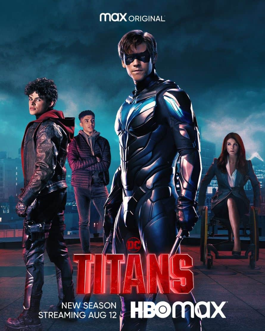Titans HBO Max Season 3 Poster 3