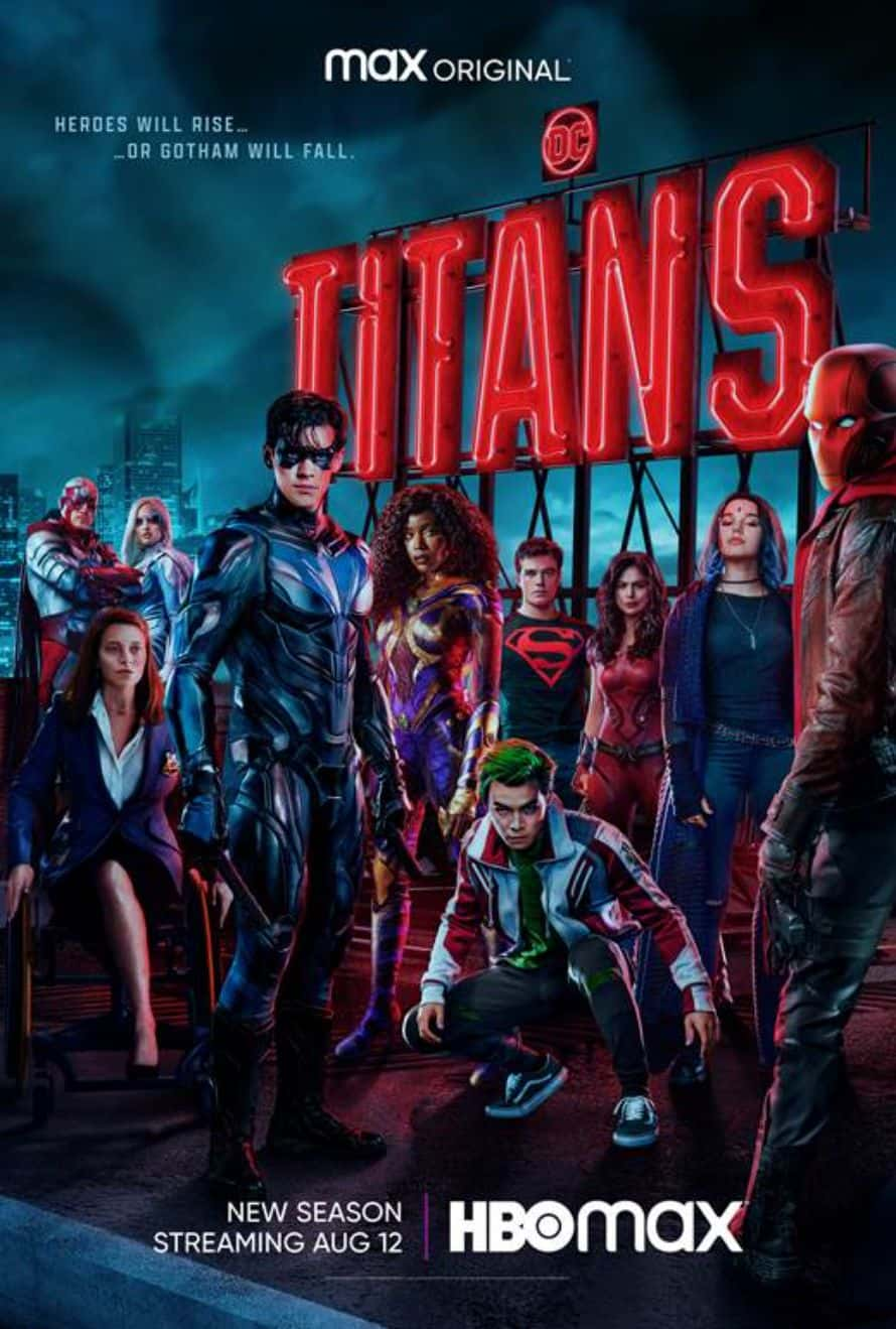 Titans Season 3 Poster HBO Max
