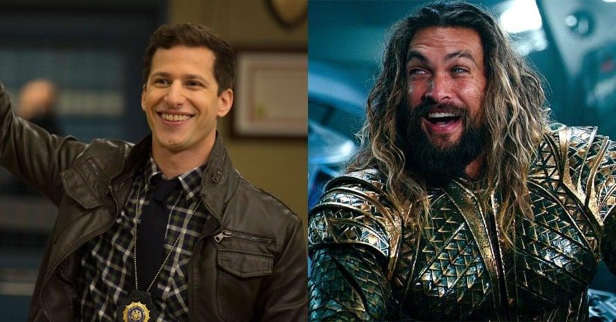 Aquaman Zack Snyder's Justice League Brooklyn Nine Nine