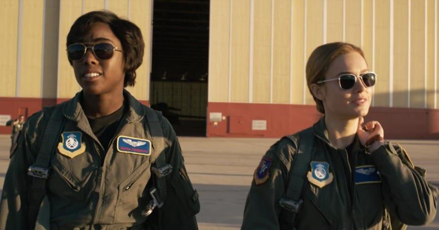 Captain Marvel Lashana Lynch Maria Rambeau The Marvels WandaVision