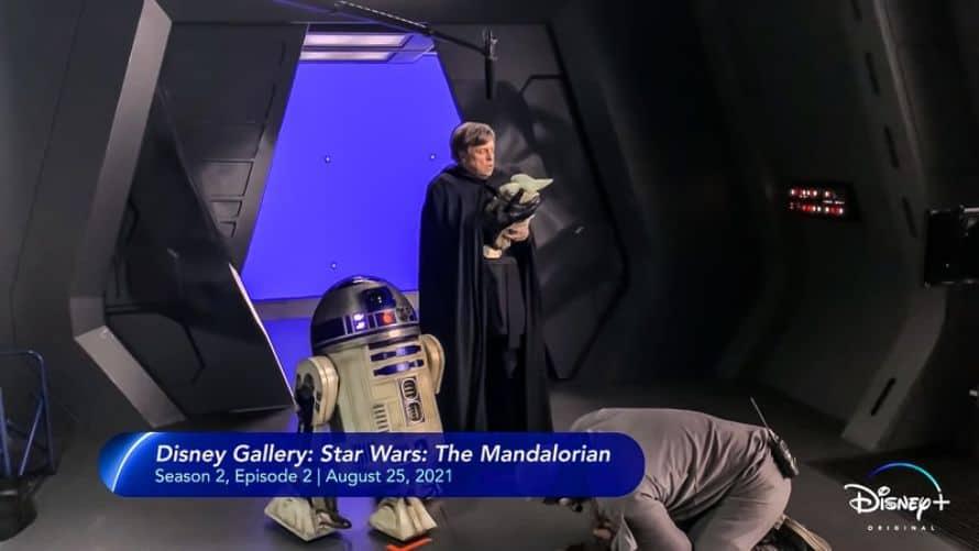 Disney Plus Mark Hamill Luke Skywalker Grogu The Mandalorian