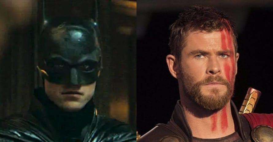 Robert Pattinson The Batman Thor Chris Hemsworth