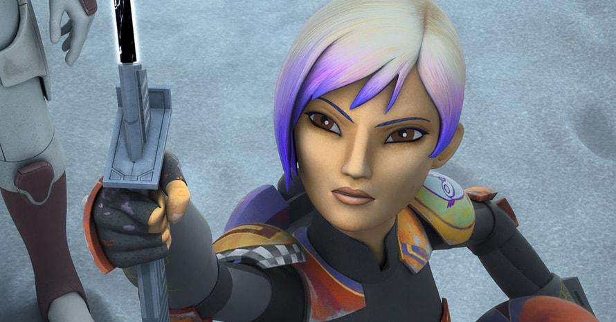 Sabine Wren Star Wars Rebels Ahsoka Rosario Dawson
