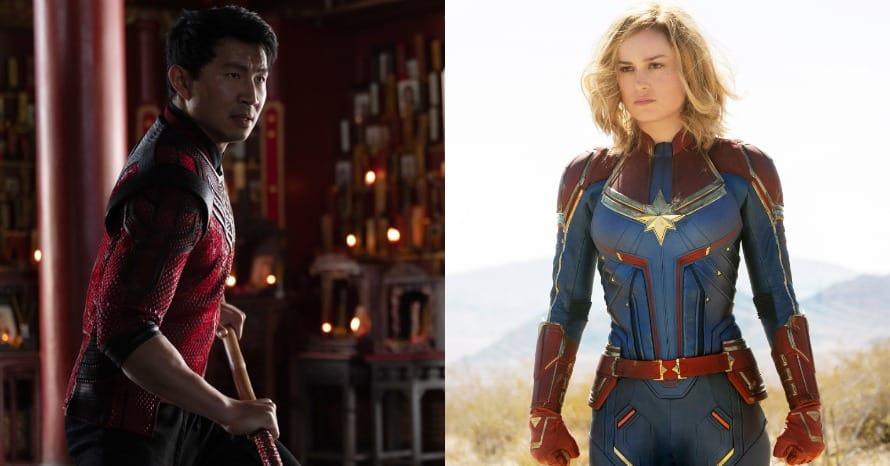 Shang-Chi Simu Liu Brie Larson Captain Marvel