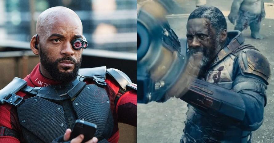 The Suicide Squad Idris Elba Will Smith Deadshot