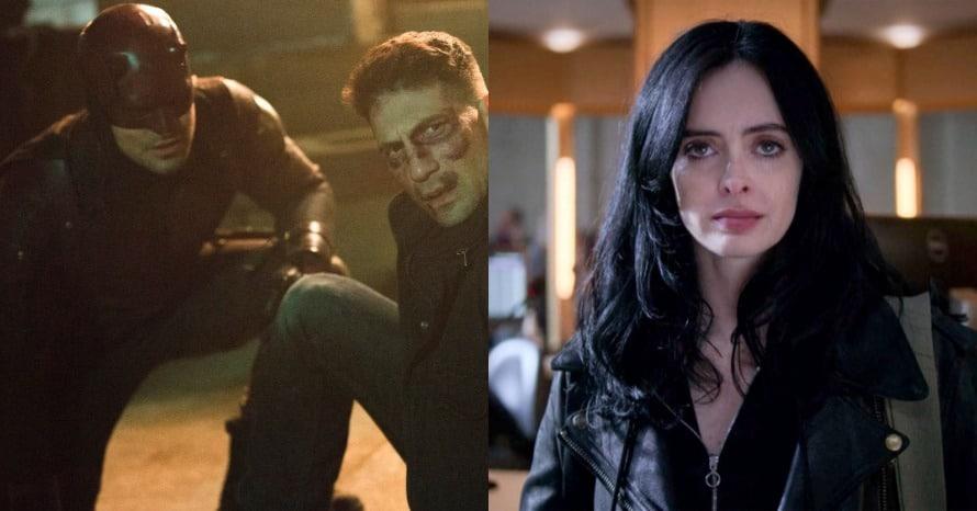 Daredevil Charlie Cox Jessica Jones The Punisher MCU