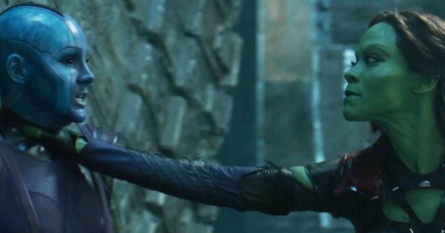 Gamora Nebula Guardians of the Galaxy Vol 3 Seth Green
