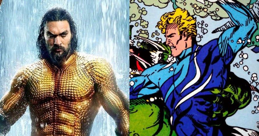 Jason Momoa Aquaman James Wan Blue Suit